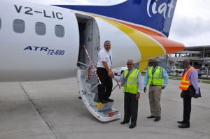 LIAT regrets any inconvenience caused as a result of the passage of the storm.