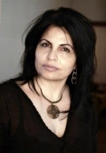 Nidaa Khoury, author of Book of Sins. (© HNP photo)