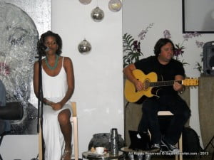"""Debbie works closely with Barbadian producer Toby Armstrong and performs weekly in local bars and restaurants where patrons wait eagerly to hear """"a Debbie Reifer original""""."""