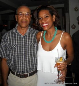 (Seen here with her Dad, Cyril) In July of 2012 Debbie was asked to create music for 'Chrissy'; a local film written, directed and produced by Marcia Weekes. She is gearing up for the film's promotional tour in November to Canada and the U.K.