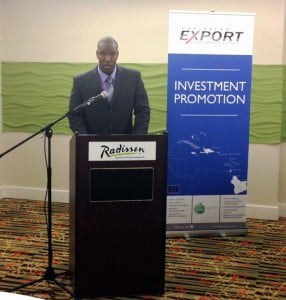 Mr. Ronald Theodore, President of the Caribbean Association of Investment Promotion Agencies (CAIPA) and Vice President of Promotion & Marketing, Grenada Industrial Development Corporation
