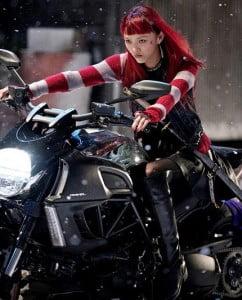{IMAGE VIA: marvel.com} The Wolverine (2013) Rila Fukushima as Yukio