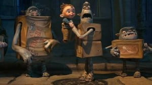 {IMAGE VIA - cartoonbrew.com} A young orphaned boy raised by underground cave-dwelling trash collectors tries to save his friends from an evil exterminator. Based on the children's novel 'Here Be Monsters' by Alan Snow.
