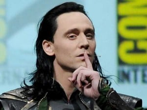 {IMAGE VIA - businessinsider.com} Tom Hiddleston surprised fans with an appearance in character as the master of mischief, Loki himself, during Marvel Studios' Hall H presentation at San Diego Comic-Con!