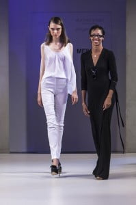 The Caribbean Essence runway show opened with all white collection of drennaLUNA aptly named Montego Bay by Jamaican designer Arlene Martin.