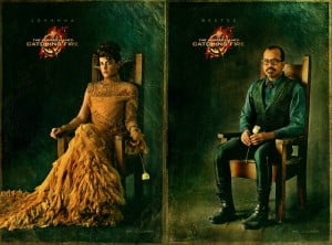 "{IMAGE VIA - aceshowbiz.com} THE HUNGER GAMES: CATCHING FIRE is directed by Francis Lawrence, from a screenplay by Simon Beaufoy and Michael DeBruyn, based upon the novel ""Catching Fire"" by Suzanne Collins and produced by Nina Jacobson and Jon Kilik. The novel is the second in a trilogy that has over 50 million copies in print in the U.S. alone."