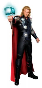 """""""Whosoever holds this hammer, if he be worthy, shall possess the power of Thor."""""""
