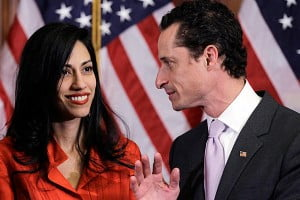 """{IMAGE VIA - guestofaquest.com} Maybe I will never be another Huma Haberdin who stands by her man through all of his wrongdoings at a press conference, as I do believe in the old saying, """"fool me once, shame on you, fool me twice, shame on me!"""""""