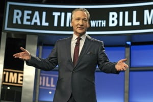 In the episode I watched being recorded, Bill's scheduled guests included - Sarah Slamen, Jim Wallis, Reza Aslan, Bob Ney and Eliot Spitzer