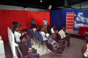 Section of audience at the Bank on ME Briefing Session hosted by Blue Waters Productions in association with Scotiabank. Lots of exciting businesses in evidence.