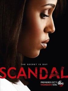 Don't miss the return of Scandal, Thursday Oct. 3! (CLICK FOR BIGGER)