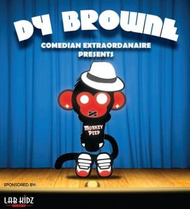 """Actor, writer, director and acting coach Dy Browne is in the """"Spotlight"""" with his hilarious, entertaining but profound comedy routine. Trained at the American Academy of Dramatic Arts, this home grown artist has been sharpening his act which is inimitably Bajan yet interwoven with universal themes."""