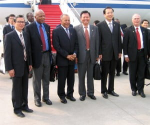 {FILE IMAGE} From China's point of view, while the Caribbean's natural resources and its small markets (despite China's balance of trade surplus) may be of little significance to its well-being, in a global system made up of states the voting power of the Caribbean in the United Nations and other organisations is of value on matters of importance to China. Further, small though Caribbean resources and markets may be to the Chinese economy, they still represent revenues and employment for China.