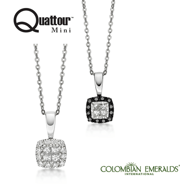 Treat yourself with a Quattour Mini pendant starting at $399