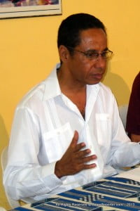 DAVID COMISSIONG: President of CPLM