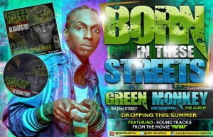 """""""Snappah,"""" known for his G81 Designz, is a seasoned performer and reigning Free Style Champion of Barbados since 2001. His album Green Monkey: The Bajan Story is due to be released this month immediately following the premiere of the highly anticipated movie. This charismatic young man is eager to bring his own style to the comedy stage."""