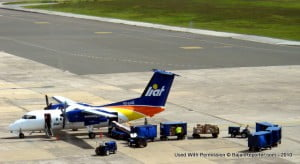 {PERSONAL FILE IMAGE} The aircraft continued to the Grantley Adams International Airport where, as a precautionary measure, emergency services were on standby. The landing was uneventful and the passengers disembarked at the gate in Barbados.
