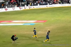 """Barbados have two in two now as they defeat Antigua by 12 runs! What should have been a fairly easy run chase has turned into a labyrinth as Antigua Hawksbills just didn't know how to go about it. Early on they took their time to get settled but then, in a bid to match up with the run rate lost regular wickets and lost the plot completely."""