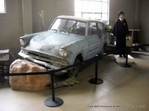 """Flying car from """"Harry Potter & The Chamber Of Secrets"""""""