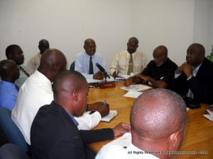 {PERSONAL FILE IMAGE} The Congress strongly supports the present parity of the exchange rate of the Barbados dollar to the US dollar and the policy position of the Government to maintain public sector job levels; while giving the private sector the opportunity to gear itself to be the engine of growth and thus job creation.