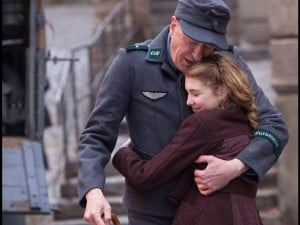 {IMAGE VIA - broadwayworld.com} Directed by Brian Percival  Starring Geoffrey Rush, Emily Watson, Sophie Nélisse  © 20th Century Fox http://www.thebookthief.com/
