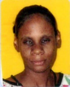 (FILE IMAGE) She was last seen by her mother-in-law Eustine Walker of the said address about 7:30.pm on 2013-08-05 at Oxnards. Her clothing at the time was unknown.