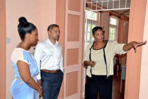 Dirk Hall, Managing Director, Verus International, a diversified global investment group based in New York and Barbados, was invited to visit the historic St Thomas site by Sharonne Taitt, CEO of the Centre. During the two hour tour, Ms Taitt spoke to the success of the students and trainees, who range in age from 4 to over 50 years old in age and the Board's plans for the on-going refurbishment and restructuring of the property and its programme offerings.