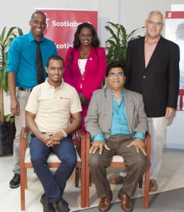 The judges for the show presented by Blue Waters Productions in association with Scotiabank, are David Neilands, former CEO of a leading supermarket chain who has worked extensively with entrepreneurs on food product development, Shelly Williams, founder and owner of Platinum Services, leaders in VIP airport services and the W Salons, Richard Haynes, Marketing Executive and Co-Founder of Baje International and CEO of South Central Entertainment and Marketing and Michael Lorde, Assistant Manager, Small Business - Scotia Bank. Guest Judge on the first show was Lalu Vaswani, an entrepreneur in manufacturing, co-owner of Satjay Mall and President of the Barbados Chamber of Commerce and Industry.