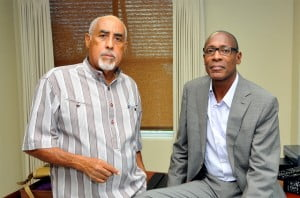 UWI Consulting is the entity through which The UWI provides consulting services regionally and internationally. Dr Nurse {at right} will be assisted by Deputy Director Professor Claremont Kirton {left} as they work to strengthen UWI Consulting as a dynamic portal through which the expertise of UWI faculty, alumni and affiliates can be accessed for consultancies in a wide variety of areas.