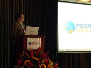 Dr Bishop Moderates at Prospecta Caribe 2013