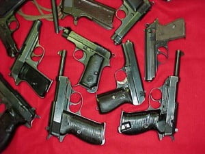 A quantity of ammunition of various calibers was also seized.  The firearms had been disassembled to accommodate the method used for the smuggling operation.