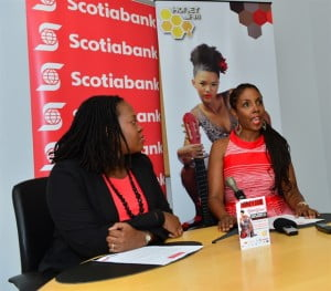 "Speaking at a press conference where Scotiabank announced its new partnership with Honey Jam Barbados, CEO of the all-female music showcase Ebonnie Rowe said the main ""struggle"" in producing the event is financial, saying she still has to ""pound the pavement"" to get sponsorship."