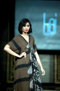 Kaj's second auction item at upcoming celebrity charity event, Legends Beyond: The kaftan wraps the body in luxurious folds of silk that subtly reveal bare skin by the poolside or at a sunset cocktail.