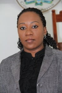 Clerk of the Nevis Island Assembly Ms. Shemica Maloney (file photo)