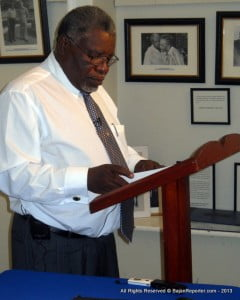 {PERSONAL FILE IMAGE} In his feature address, Barbados Ambassador to CARICOM, Robert Morris, observed that the power sector was on the cusp of a paradigm shift toward the green economy. The historian and seasoned trade unionist shared his vision for Caribbean people to be trained in renewable energy technology and the corresponding regulatory systems.