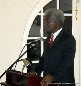 I would therefore like to publicly challenge the current US Ambassador to Barbados - His Excellency Larry Palmer - to bring to the attention of the Barbadian people any International Law principles that would confer on the Government of the USA the right to unilaterally supplant the United Nations Security Council on this issue. I am absolutely certain that no such principle of law exists!