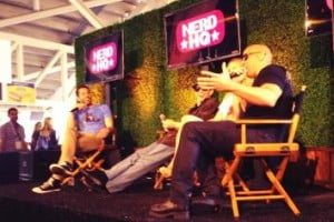 Vin Diesel, Katee Sackhoff and Director David Twohy stopped by Nerd HQ for an exclusive question and answer session for their new film release RIDDICK, opening in theaters September 6, 2013.