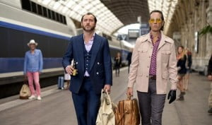 {IMAGE VIA - aintitcool.com} After spending 12 years in prison for keeping his mouth shut, notorious safe-cracker Dom Hemingway is back on the streets of London looking to collect what he's owed.