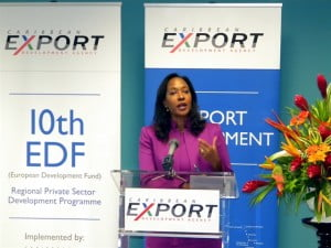 """""""It was extremely encouraging to receive the number of applications from our regional agro-processors, food and beverage manufacturers. These industries have always been important to the Agency in view of their importance to the region and internationally. Moreover the European market has also always been fascinated by Caribbean culture and food, and for those who are unable to sample within the Caribbean, we want to ensure they can still find Caribbean food and beverage products in their local specialty or gourmet shops or perhaps supermarkets"""" expressed Pamela Coke-Hamilton, Executive Director for Caribbean Export."""