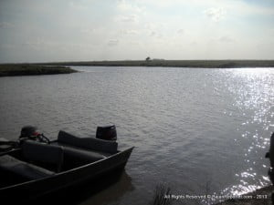 The channel, which on completion will be 10.3km in length from the sea defence embankment and extending to EDWC, will work in conjunction with the high level sluice outfall structure, the conservancy head regulator and public bridge being constructed at Hope section of the ECD road. (VIDEO TO COME/CLICK FOR BIGGER)