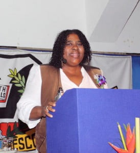 And how did the white Barbadians of Prescod's day respond to this pioneering effort of regional integration,black unity and self-empowerment?  Well, Dr Alana Johnson informs us as follows:-