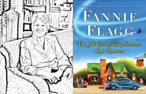 {IMAGE VIA - alabamabooksmith.com} The one and only Fannie Flagg, beloved author of Fried Green Tomatoes at the Whistle Stop Cafe, Can't Wait to Get to Heaven, and I Still Dream About You, is at her hilarious and superb best in this new comic mystery novel about two women who are forced to re-imagine who they are.