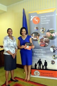 The Diploma was publicly launched at the Third Caribbean Workshop on Social Protection and International Cooperation on September 27, 2013 at the Hilton Barbados Resort by Dr. Heather Ricketts of UWI and Kim Osborne of the OAS.