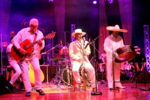 At times, the wardrobe seemed reminiscent of Kid Creole & the Coconuts...