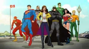 This animation based on Geoff Johns and Jim Lee's Justice League Vol. 1: Origin.