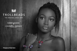 Keyla Harewood (CLICK FOR BIGGER) Colombian Emeralds International – Barbados is proud to sponsor the photo challenges of the 2013 Kolij Runway – Bedazzled Competition with the exclusive, trend-setting brand: Trollbeads.