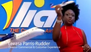"""The response to our digital outreach has been exceptionally positive,"" said Leesa Parris-Rudder, LIAT's Director of Commercial and Customer Experience."
