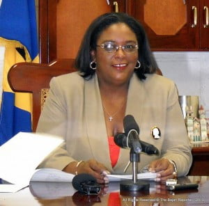 """To suggest that Miss Mottley may soon """"strip naked....""""etc. is not a statement expected of someone holding one of the highest offices in this land and is disrespectful to the women of this nation."""