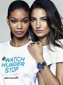 The 100 Series watch is the brand's first uniquely designed product to support a global philanthropic initiative. Available exclusively in Michael Kors stores worldwide and online at MichaelKors.com, it retails for $295 USD.