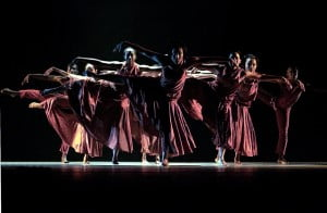 An excerpt from Allan Balfour's 1987 choreography, Red Clay, during the NDDCI's 25th anniversary production, DAM 25. Photo courtesy David Wears for the NDDCI.